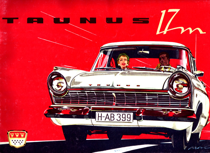 Ford Taunus 17 M Limousine Werbung