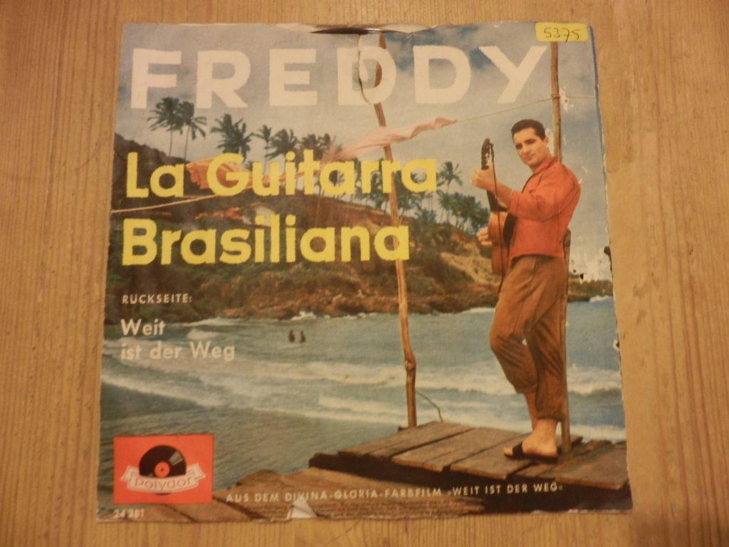 "Freddy Quinn, La Guitarra Brasiliana, 7""Single, Polydor, Foto: A. Ohlmeyer"