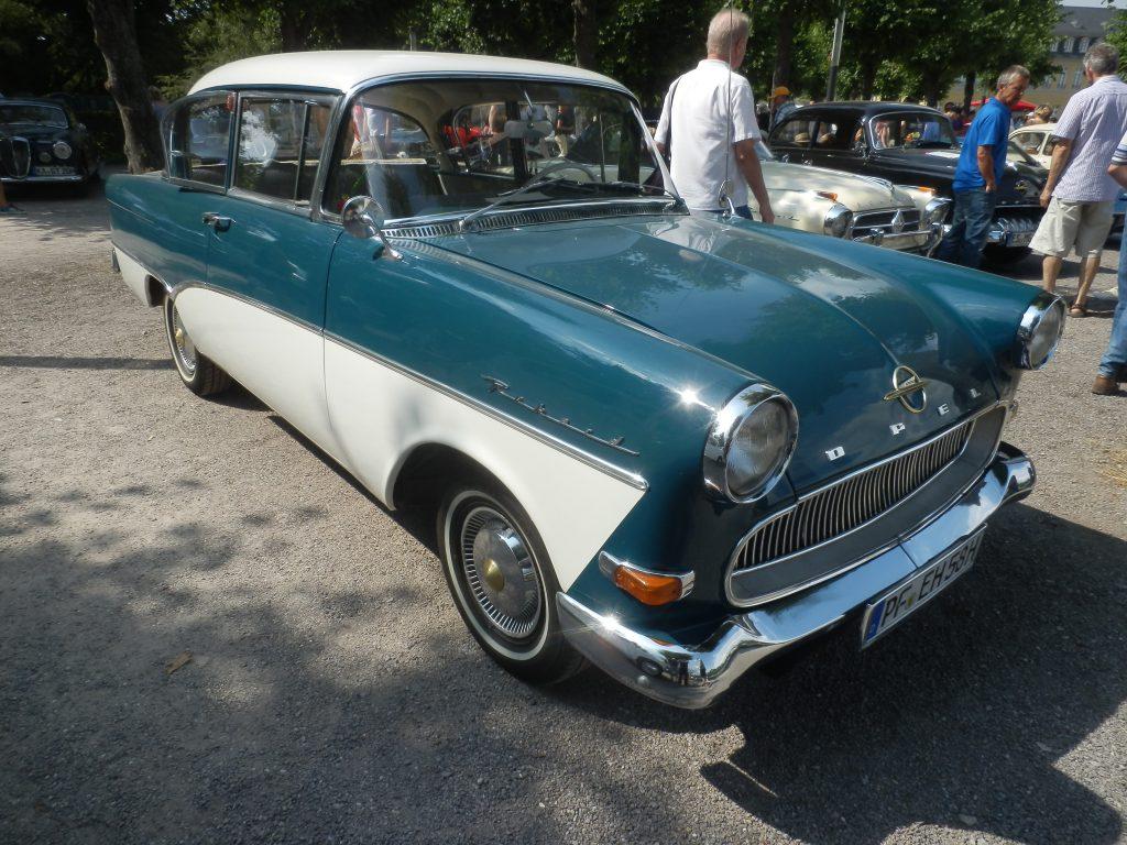 Opel Rekord P1, Bj. Limousine 2-türig, 1957-60, Foto: A. Ohlmeyer