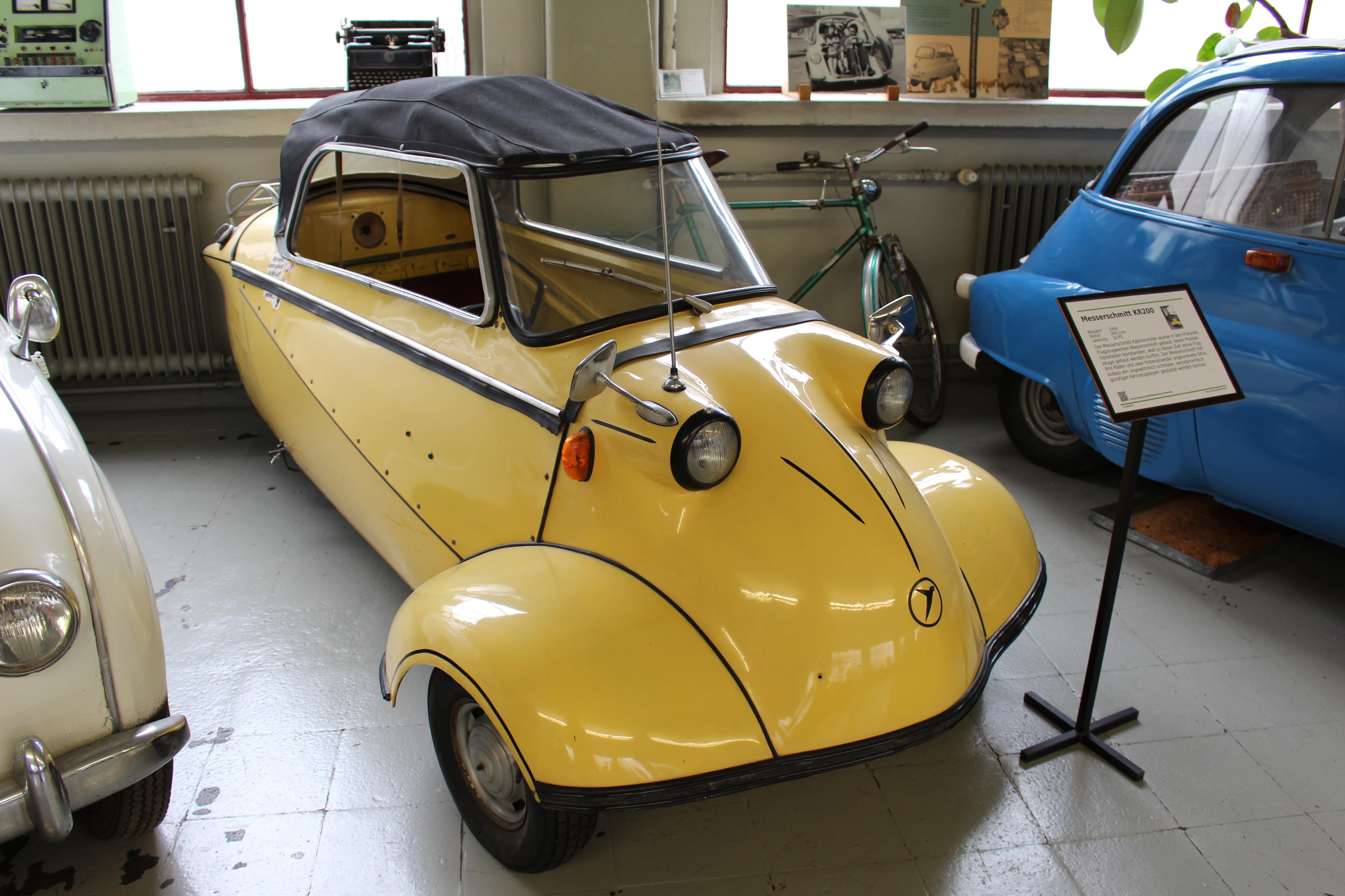 Messerschmitt Kabinenroller Cabrio